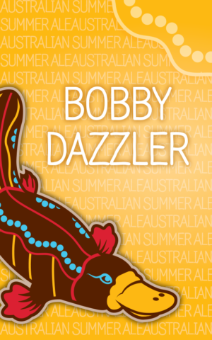 Bobby Dazzler is an Australian Summer Ale brewed with local Houston honey and Australian Topaz hops.