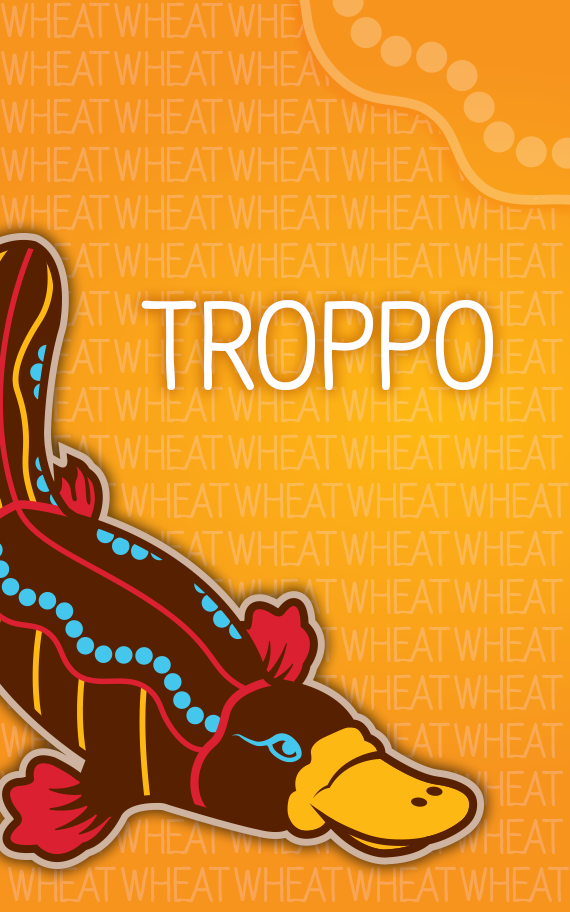 Troppo, Nine Banded American Wheat Ale with Australian Mango and Passionfruit.