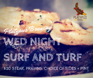 Wed Night Surf 'n Turf