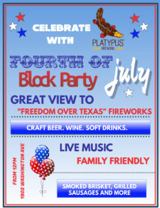 July 4th Block Party @ Platypus Brewing
